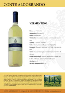 "Vermentino IGT Toscana ""Le Fonticchie"""