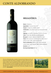 "IGT Toscana Rosso ""Helianthus"""