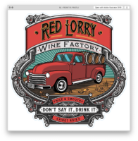 The Red & Yellow Lorry Wine Factory